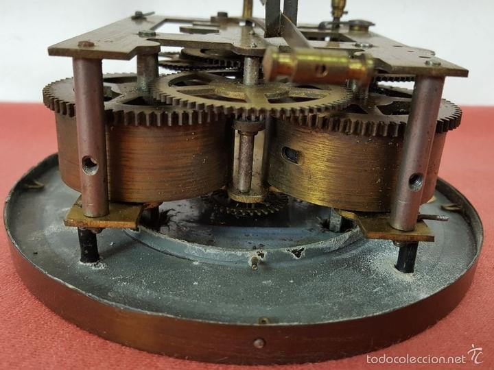 Relojes de pared: RELOJ DE PARED EN MADERA. MAQUINARIA PHILIP HASS SOHN. ALEMANIA. SIGLO XIX-XX. - Foto 22 - 139578352