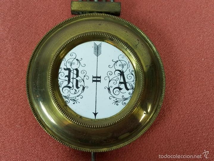 Relojes de pared: RELOJ DE PARED EN MADERA. MAQUINARIA PHILIP HASS SOHN. ALEMANIA. SIGLO XIX-XX. - Foto 23 - 139578352
