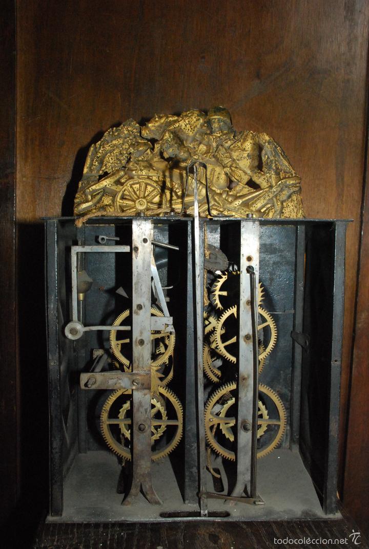 Antiguo reloj de pared estilo morez comprar relojes antiguos de pared carga manual en - Mecanismo para reloj de pared ...