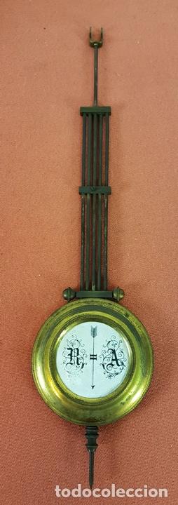 Relojes de pared: RELOJ DE PARED. MUEBLE EN MADERA DE NOGAL. CARL WERNER. ALEMANIA. SIGLO XIX. - Foto 19 - 62578452