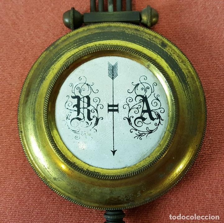Relojes de pared: RELOJ DE PARED. MUEBLE EN MADERA DE NOGAL. CARL WERNER. ALEMANIA. SIGLO XIX. - Foto 22 - 62578452