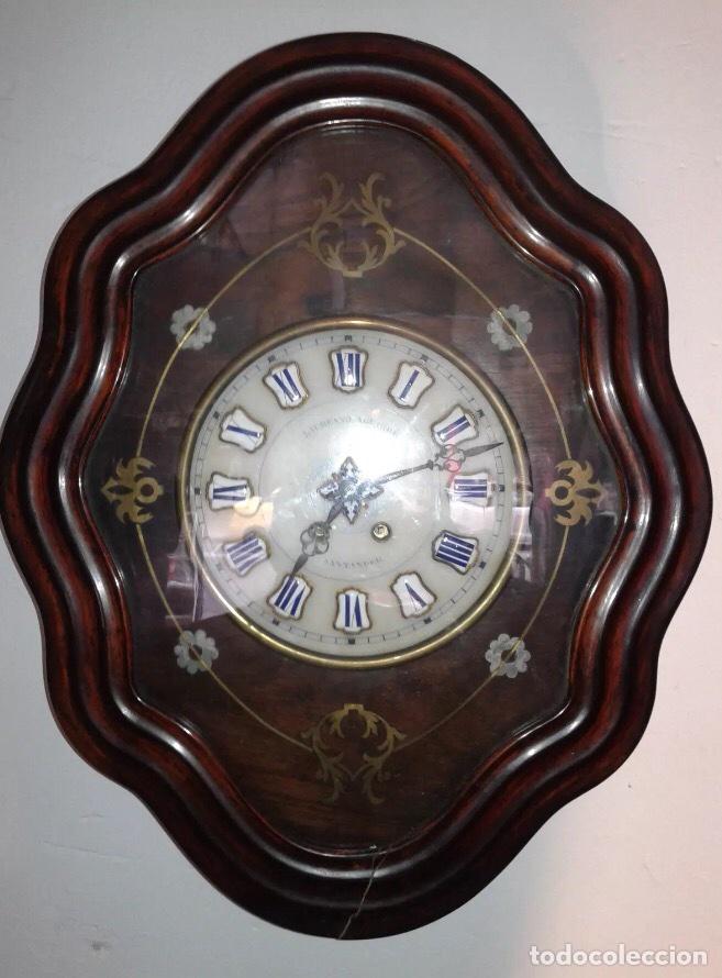 Reloj antiguo ojo de buey pared comprar relojes antiguos - Comprar mecanismo reloj pared ...