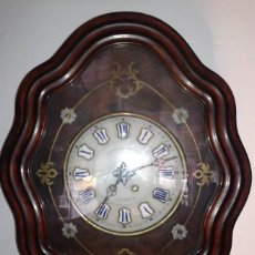 Relojes de pared: RELOJ ANTIGUO OJO DE BUEY PARED. Lote 63006100