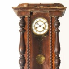 Relojes de pared: RELOJ ANTIGUO PARED TIPO VIENA DE 1890.. Lote 63115472