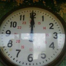 Relojes de pared: ANTIGUO Y GRAN RELOJ DE PARED FABRICADO EN LA URSS. Lote 63270752