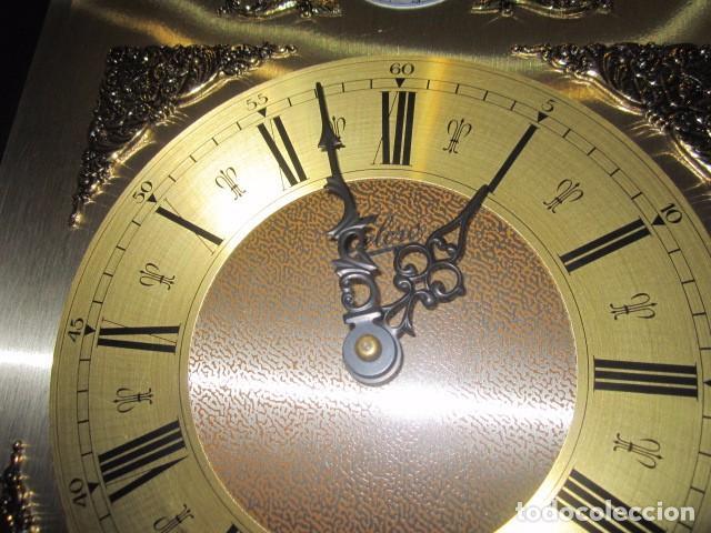 Relojes de pared: Reloj de pared Telcro con sonería horas y medias. Funcionando. 32 x 16 x 91 cms. altura. - Foto 3 - 64015635