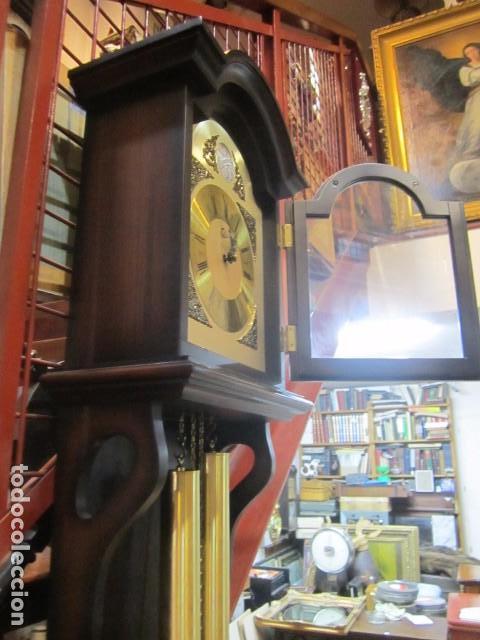 Relojes de pared: Reloj de pared Telcro con sonería horas y medias. Funcionando. 32 x 16 x 91 cms. altura. - Foto 6 - 64015635
