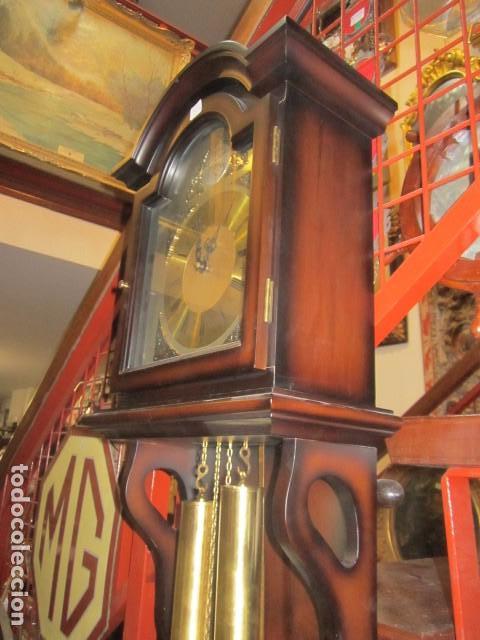 Relojes de pared: Reloj de pared Telcro con sonería horas y medias. Funcionando. 32 x 16 x 91 cms. altura. - Foto 7 - 64015635