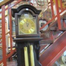 Relojes de pared: RELOJ DE PARED TELCRO CON SONERÍA HORAS Y MEDIAS. FUNCIONANDO. 32 X 16 X 91 CMS. ALTURA.. Lote 64015635