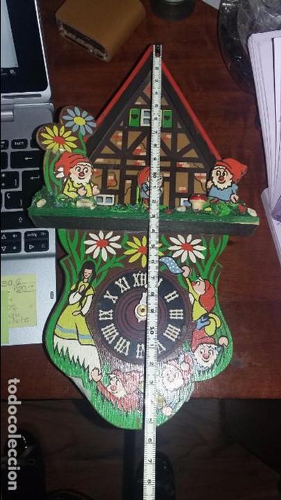 Relojes de pared: RELOJ DE CUCO INFANTIL BLANCANIEVES Y LOS SIETE ENANITOS . FUNCIONANDO - Foto 4 - 64439643