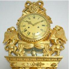 Relojes de pared: ANTIGUO RELOJ DE SUICIA. Lote 65952451