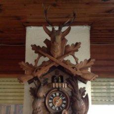 Relojes de pared: RELOJ CUCO TRES PESAS SELVA NEGRA. Lote 67239069