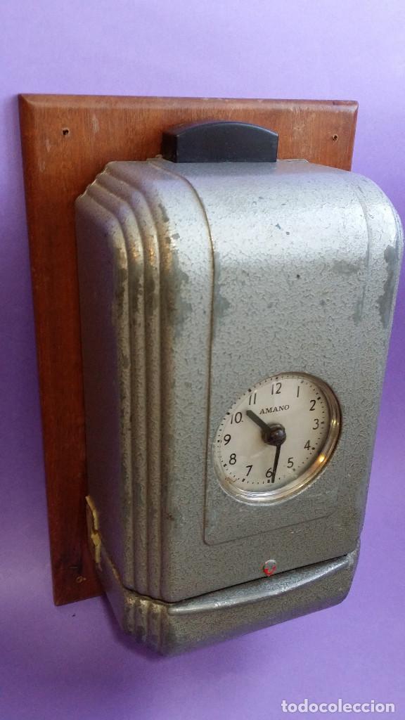 Reloj Deco Y De Antiguo Precioso Fichar Art eW9IEHDY2