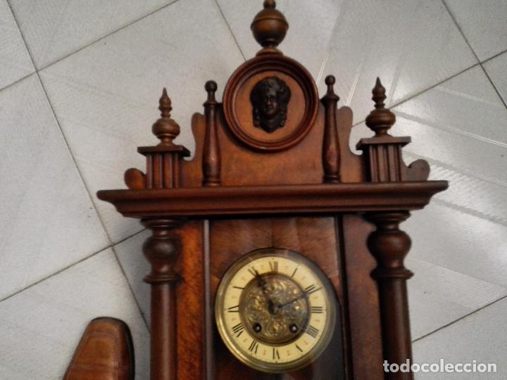 Relojes de pared: DELECIOSO Y FINO REGULADOR ALEMAN - Foto 2 - 42654830