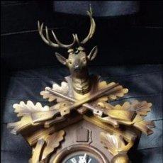 Relojes de pared: RELOJ DE CUCO TRADICIONAL ALEMAN. FUNCIONANDO. Lote 67952817