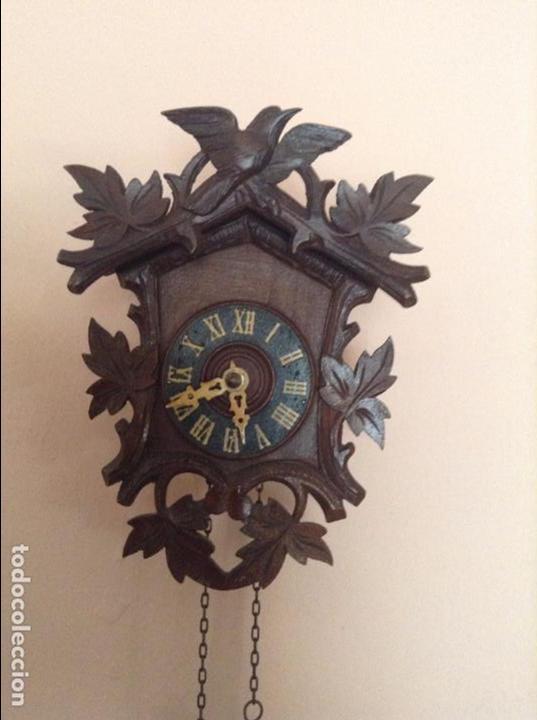 Relojes de pared: PEQUEÑO RELOJ DE LA SELVA NEGRA. DE LOS AÑOS 20. EN PREFECTO ESTADO Y FUNCIONANDO - Foto 4 - 68547365