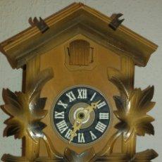 Relojes de pared: RELOJ DE CUCO MADERA.. Lote 69109027