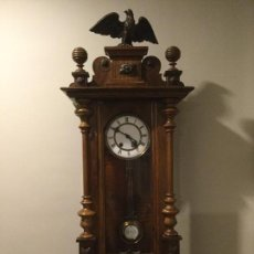 Relojes de pared: RELOJ ISABELINO CON MAQUINARIA CARL WERNER. Lote 69961897