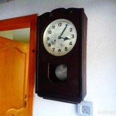 Relojes de pared: RELOJ PARED MAQUINARIA ALEMANA. Lote 168327665