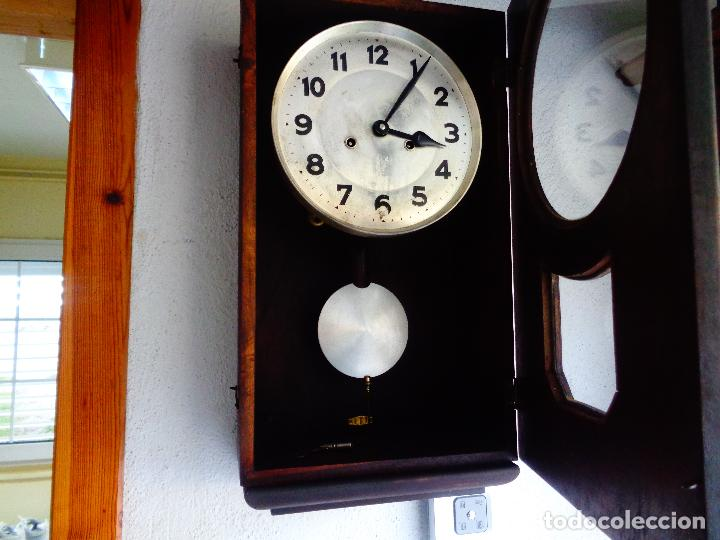 Relojes de pared: reloj pared maquinaria alemana - Foto 2 - 168327665