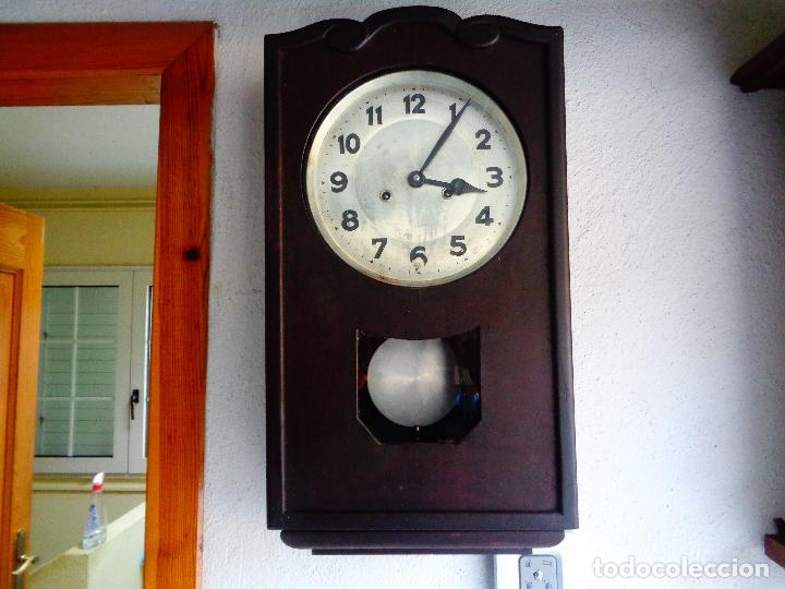 Relojes de pared: reloj pared maquinaria alemana - Foto 3 - 168327665