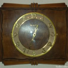 Relojes de pared: ANTIGUO RELOJ PARED VEDETTE A CUERDA.. Lote 71947437