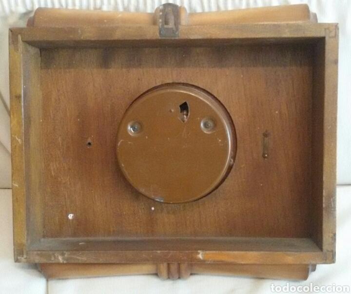 Relojes de pared: Antiguo Reloj Pared Vedette a Cuerda. - Foto 4 - 71947437