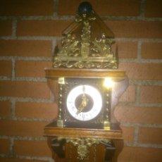 Relojes de pared: ANTIGUO RELOJ HOLANDES MARCA WUBA MODELO ATLAS. Lote 75171619