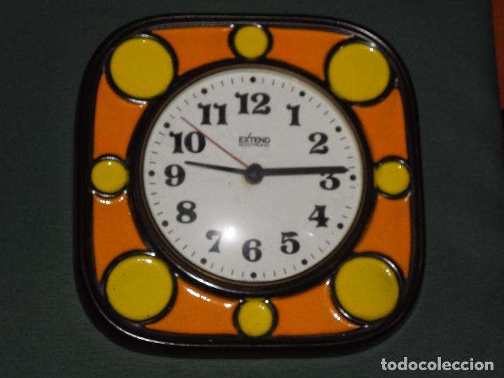 Reloj de cocina ceramica porcelana esmaltada ex comprar - Relojes pared cocina ...