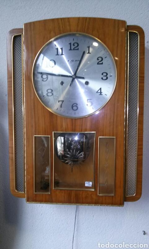 RELOJ DE PARED AÑOS 70 (Relojes - Pared Carga Manual)