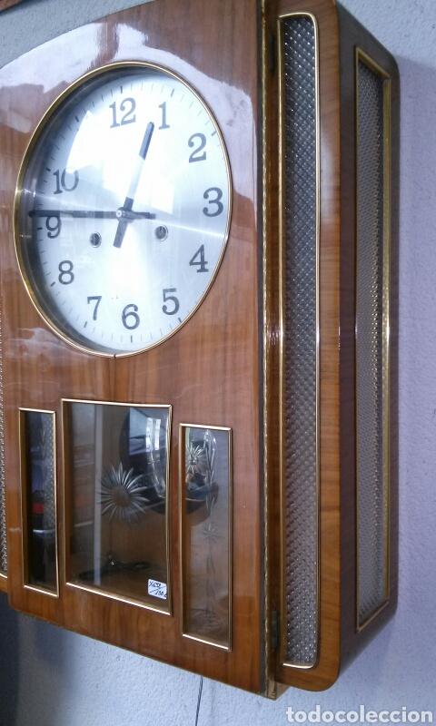 Relojes de pared: RELOJ DE PARED años 70 - Foto 2 - 77877377