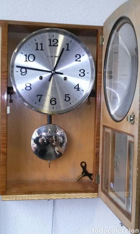 Relojes de pared: RELOJ DE PARED años 70 - Foto 4 - 77877377
