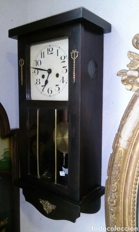 Relojes de pared: ANTIGUO RELOJ DE PARED, principios siglo XX - Foto 2 - 77878103