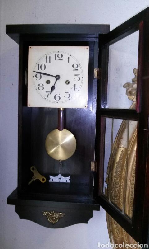 Relojes de pared: ANTIGUO RELOJ DE PARED, principios siglo XX - Foto 3 - 77878103