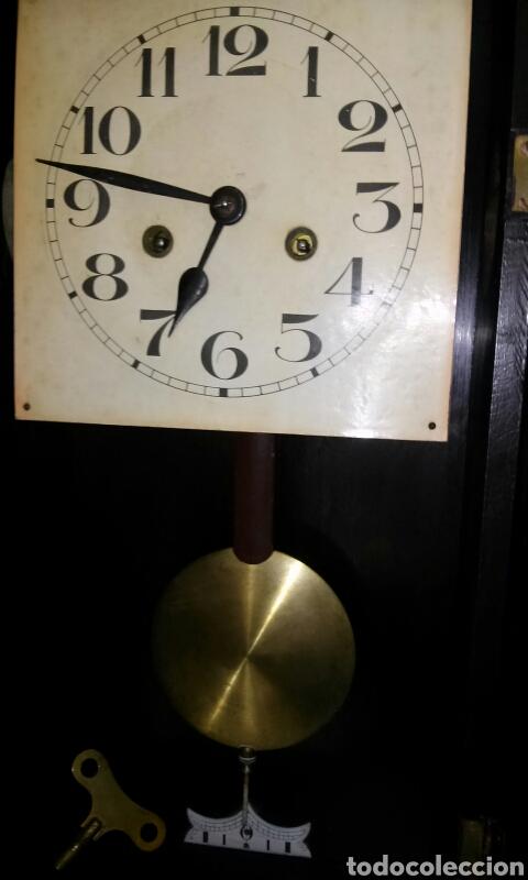 Relojes de pared: ANTIGUO RELOJ DE PARED, principios siglo XX - Foto 4 - 77878103