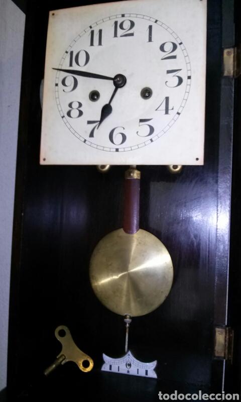 Relojes de pared: ANTIGUO RELOJ DE PARED, principios siglo XX - Foto 5 - 77878103