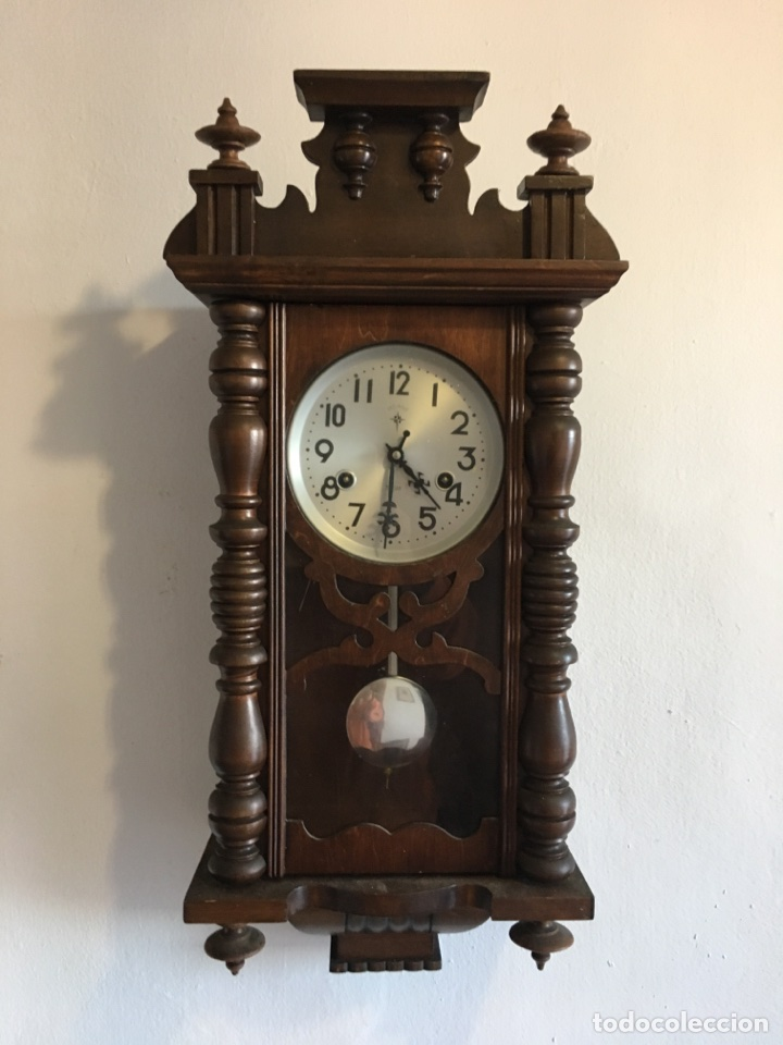 Reloj de pared polaris comprar relojes antiguos de pared carga manual en - Relojes pared antiguos ...