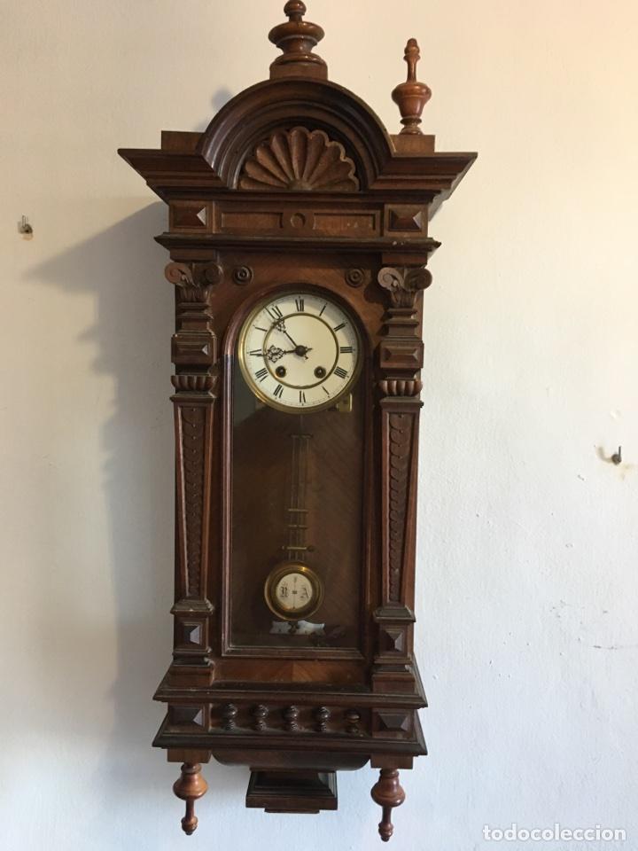 Reloj de pared finales del siglo xix comienz comprar - Relojes de pared ...