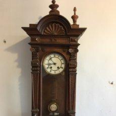 Relojes de pared: RELOJ DE PARED.- FINALES DEL SIGLO XIX, COMIENZOS DEL XX. Lote 79305077