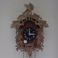Relojes de pared: RELOJ ELECTRÓNICO ALEMÁN. TIPO CUCO. ( 19 ). Lote 80540213
