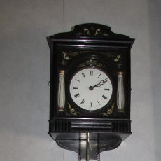 Relojes de pared: RELOJ DE PARED SIGLO XIX - BALZ KLEISER EN SCHWAERZENBACH - PRECIOSO. Lote 80803191
