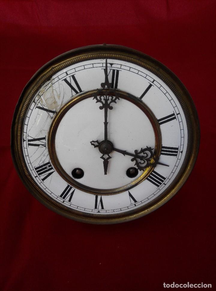 Relojes de pared: ANTIGUO RELOJ ISABELINO DE LA FIRMA CARL WERNER - Foto 13 - 81853544