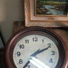 Relojes de pared: RELOJ REDONDO PARED ART DECO. Lote 83457659