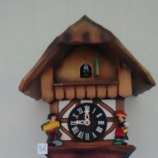 Relojes de pared: ANTIGUO RELOJ DE CUCO. MADE IN GERMANY. ( 36 ). Lote 83544664