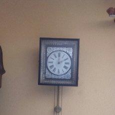 Relojes de pared: RLOJ DE CADENAS. Lote 83601076