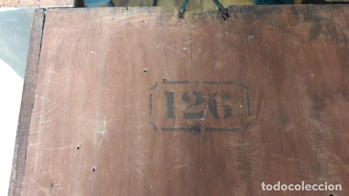 Relojes de pared: RELOJ DE PARED ANTIGUO 1910 AMERICANO MARCA ANGLO JEROME & CO FUNCIONANDO VER FOTOS - Foto 12 - 83912736
