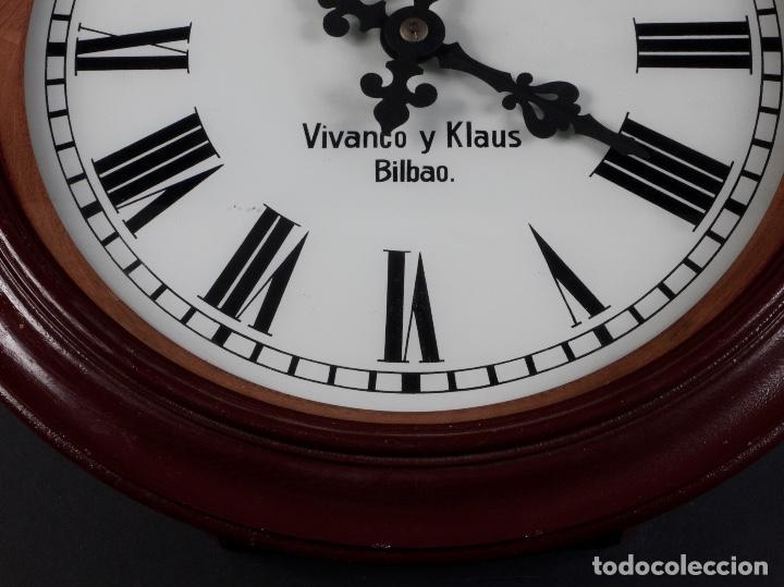 RELOJ DE PARED VIVANCO&KLAUS, BILBAO (Relojes - Pared Carga Manual)