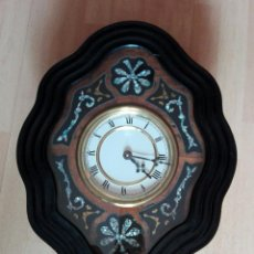 Relojes de pared: RELOJ DE PARED TIPO OJO DE BUEY. Lote 84834200