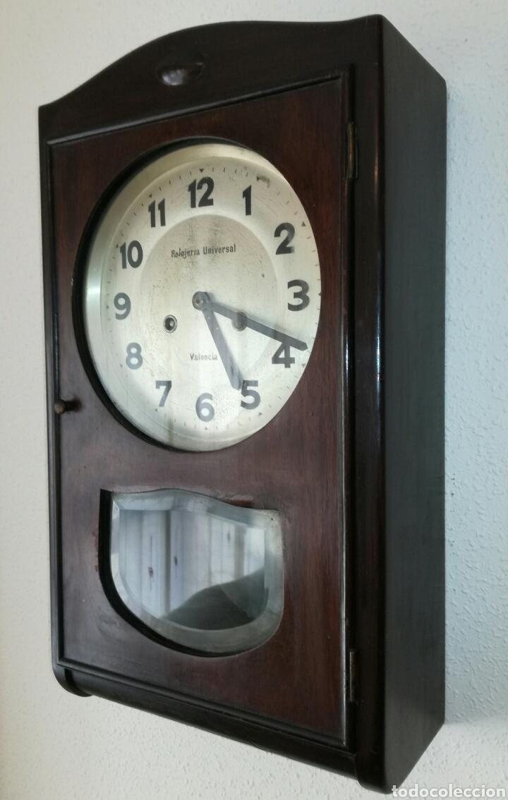 Relojes de pared: Antiguo Reloj A Cuerda R.Valencia - Foto 2 - 85150894