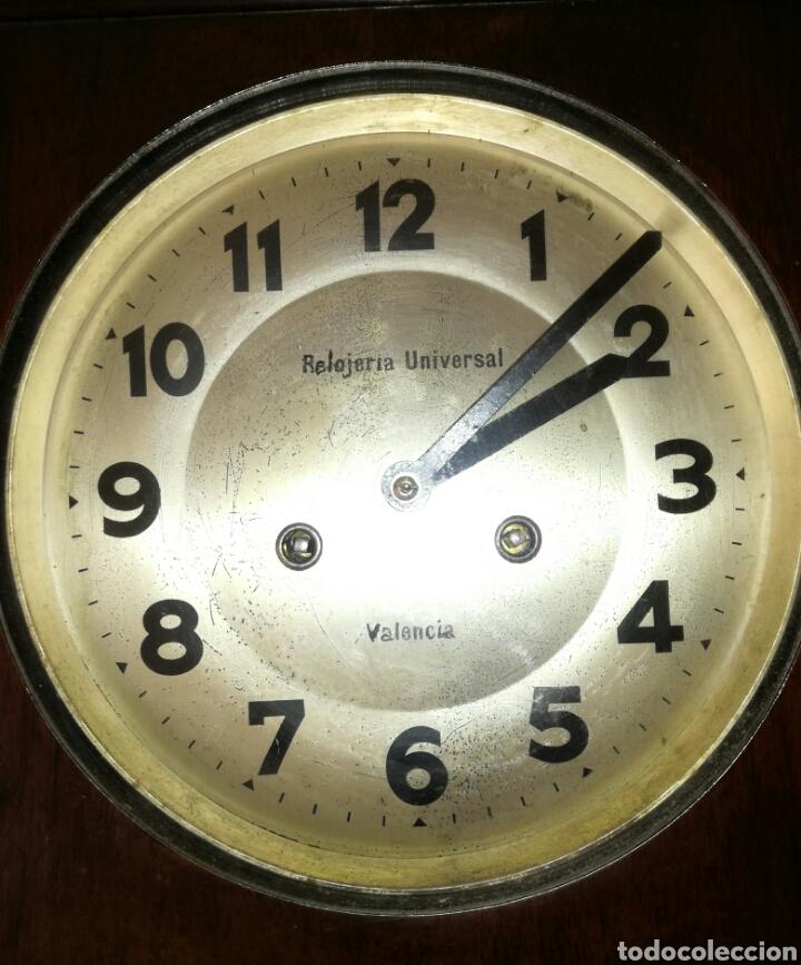 Relojes de pared: Antiguo Reloj A Cuerda R.Valencia - Foto 4 - 85150894